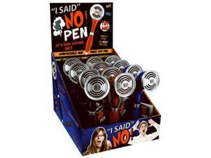 D.M. Merchandising NO-PEN No Pen Say It Loud & Proud With The Press Of A Button, Pack Of 12