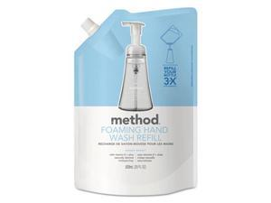 Method Products 00662CT Foaming Hand Wash Refill, Sweet Water - 28 oz.