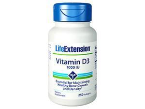 Life Extension 1751 Vitamin D3 1000 IU, 250 Softgels