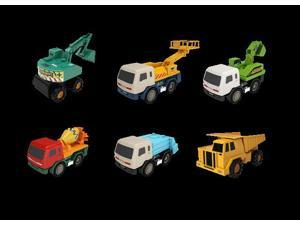 Mota UTILTRUCK-6 Heavy Industrial Truck, Set of 6 - Multi-color