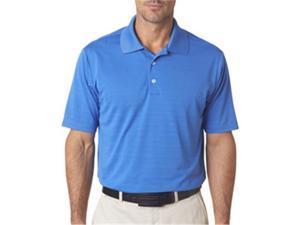 adidas A161 Mens ClimaLite Textured Polo - Gulf, 2XL