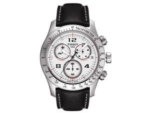 T0394171603702 Tissot V8 Chronograph Mens Watch - White Dial
