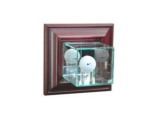 Perfect Cases WMGLF-C Wall Mounted Golf Display Case, Cherry