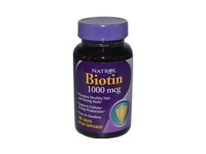 Natrol 544924 Natrol Biotin - 1000 mcg - 100 Tablets