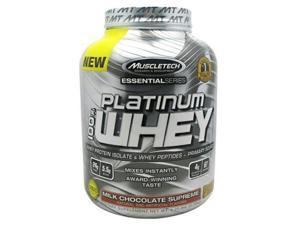 Muscletech 800525 Essential Series 100 Percent Platinum Whey Milk Chocolate Supreme