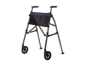 North Coast Medical NC59532-2 EZ Fold-N-Go Walker, Cobalt Blue