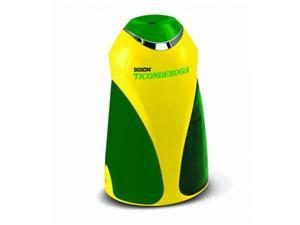 Dixon Ticonderoga 39571 Personal Electric Pencil Sharpener, Yellow & Green