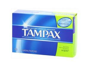 Tampax Tampons - Super Absorbency, 10 Count