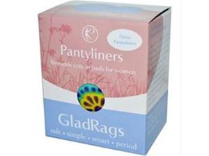 Glad Rags B83742 Glad Rags Cotton Pantyliner  -3x3 Pack