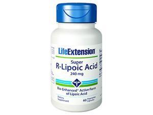 Life Extension 1208 Super R-Lipoic Acid, 60 Vegetarian Capsules