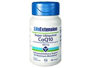 Life Extension 1426 100 mg. Super Ubiquinol COQ10 with Enhanced Mitochondrial Support