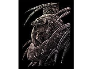 Royal & Langnickel HOLO14 Engraving Art Set Holographic Foil Snake