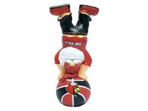 Louisville Cardinals Garden Gnome - Handstand On Basketball