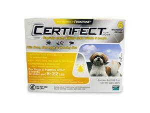 Merial 004CER6-5-22 Certifect For Dogs
