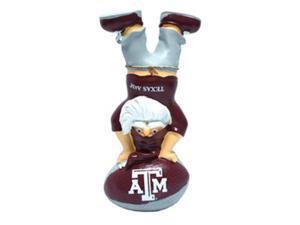 Texas A&M Aggies Garden Gnome - Handstand On Football