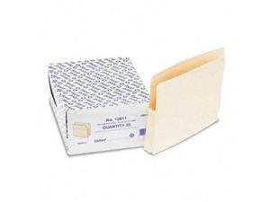 Esselte Pendaflex 12811 1 in Expansion File Pockets  25 Pockets  Straight Cut  MLA  Ltr  25/Box