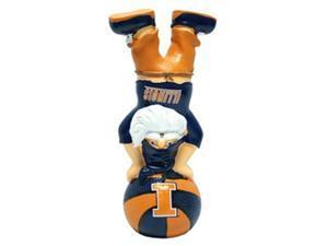 Illinois Fighting Illini Garden Gnome - Handstand On Football