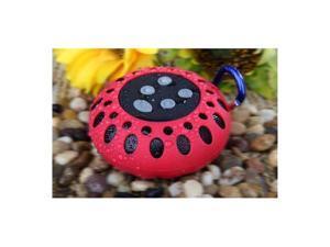 Cobra Digital CBD-BT2000RED Bluetooth Speaker With Clip Red