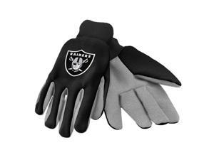 Forever Collectibles 74204 Oakland Raiders Colored Palm Sport Utility Gloves