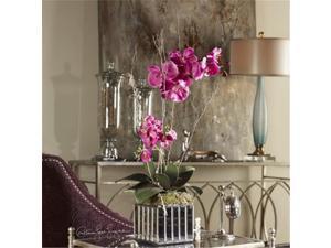 Uttermost 60121 Fuchsia Kaleama Orchids