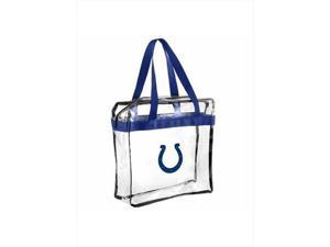 Forever Collectibles 2013 Messenger Bag NFL Indianapolis Colts Clear
