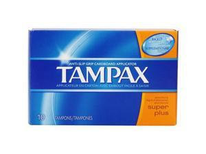 Tampax Tampons - Super Plus Absorbency, 10 Count