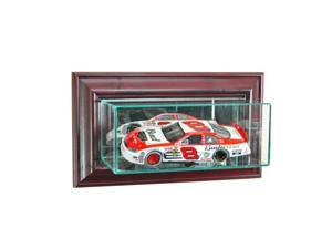 Perfect Cases WMSNSCR-C Wall Mounted 1-24th Nascar Display Case, Cherry