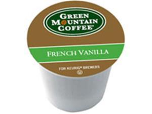 Frontier Natural Products 222558 Green Mountain Coffee Roasters Gourmet Single Cup Coffee French Vanilla Green Mountain Coffee 12 K-Cups