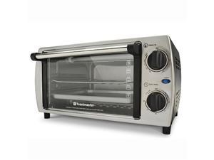 Toastmaster TM-103TR Stainless Steel 4 Slice Toaster Oven