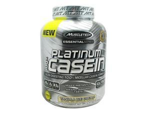 Muscletech 800516 Essential Series 100 Percent Platinum Casein Vanilla Ice Cream