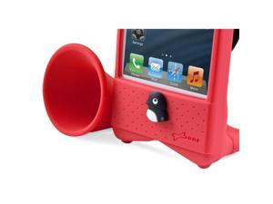Bone Collection LF12107R Bike Horn Stand for Iphone 5, Red