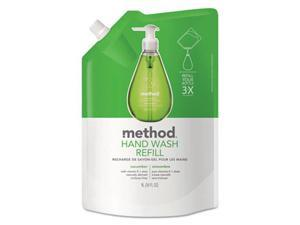 Method Products 00656CT Gel Hand Wash Refill, Cucumber Scent - 34 oz.