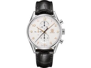 CAR2012.FC6235 Tag Heuer Carrera Leather Automatic Chronograph Mens Watch