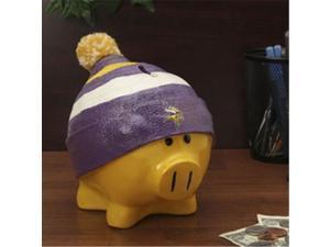Minnesota Vikings Piggy Bank - Large With Hat