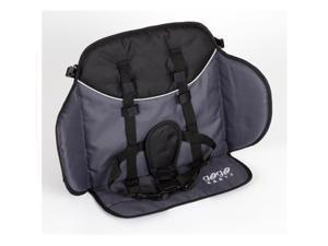 Go-Go Babyz WGNCS Wagon Stroller Cushioned Seat, Black & Gray