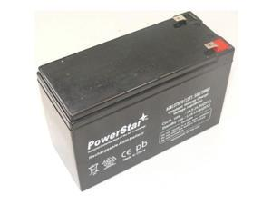 PowerStar AGM1275F2-51 12V 7.5Ah Apc Back-Ups Ls 700 Battery Replaces 12V 9Ah -3 Year Warranty