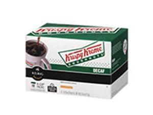 Frontier Natural Products 228541 Green Mountain Coffee Roasters Gourmet Single Cup Coffee House Decaf Krispy Kreme Pack Of 72 K-Cups
