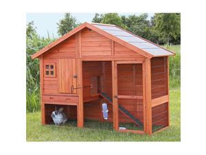 TRIXIE Pet Products 62336 Rabbit Hutch With Gabled Roof