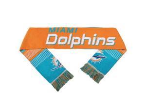 Miami Dolphins Split Logo Reverse Scarf