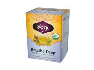 Yogi 671487 Yogi Tea Breathe Deep - Caffeine Free - 16 Tea Bags