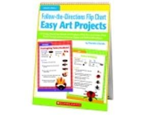 Scholastic The-Directions - Easy Art Projects Flip Chart - Grade Prek - 1