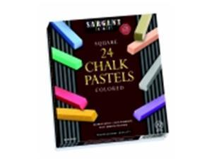Sargent Art Non-Toxic Square Chalk Pastel Classroom Pack - 0.75 x 2.5 in. - Pack 144