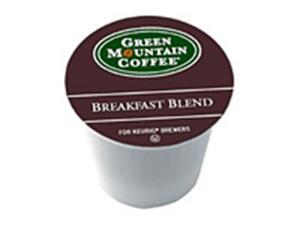 Frontier Natural Products 222464 Green Mountain Coffee Roasters Gourmet Single Cup Coffee Breakfast Blend Decaf Green Mountain Coffee 12 K-Cups