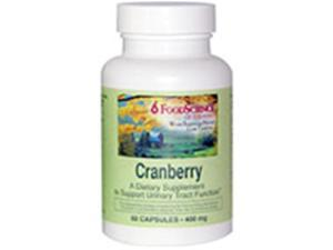 Frontier Natural Products 208895 Cranberry Extract 400 mg 60 capsules