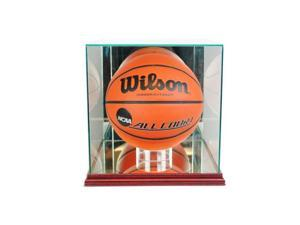 Perfect Cases BBR-C Rectangle Basketball Display Case, Cherry