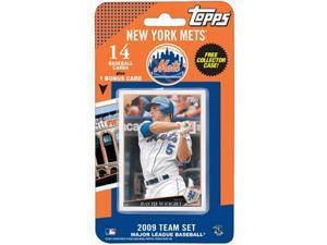 Topps 2009 New York Mets Team Set