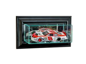 Perfect Cases WMSNSCR-B Wall Mounted 1-24th Nascar Display Case, Black