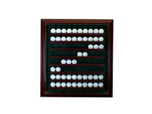 Perfect Cases PC-80GLFCB-C 80 Golf Ball Cabinet Style Display Case, Cherry