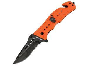 United Cutlery BV272 Black Legion Skull Rescue Folder Orange