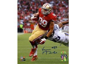 TRISTAR Vance McDonald Autographed San Francisco 49ers 8x10 Photo